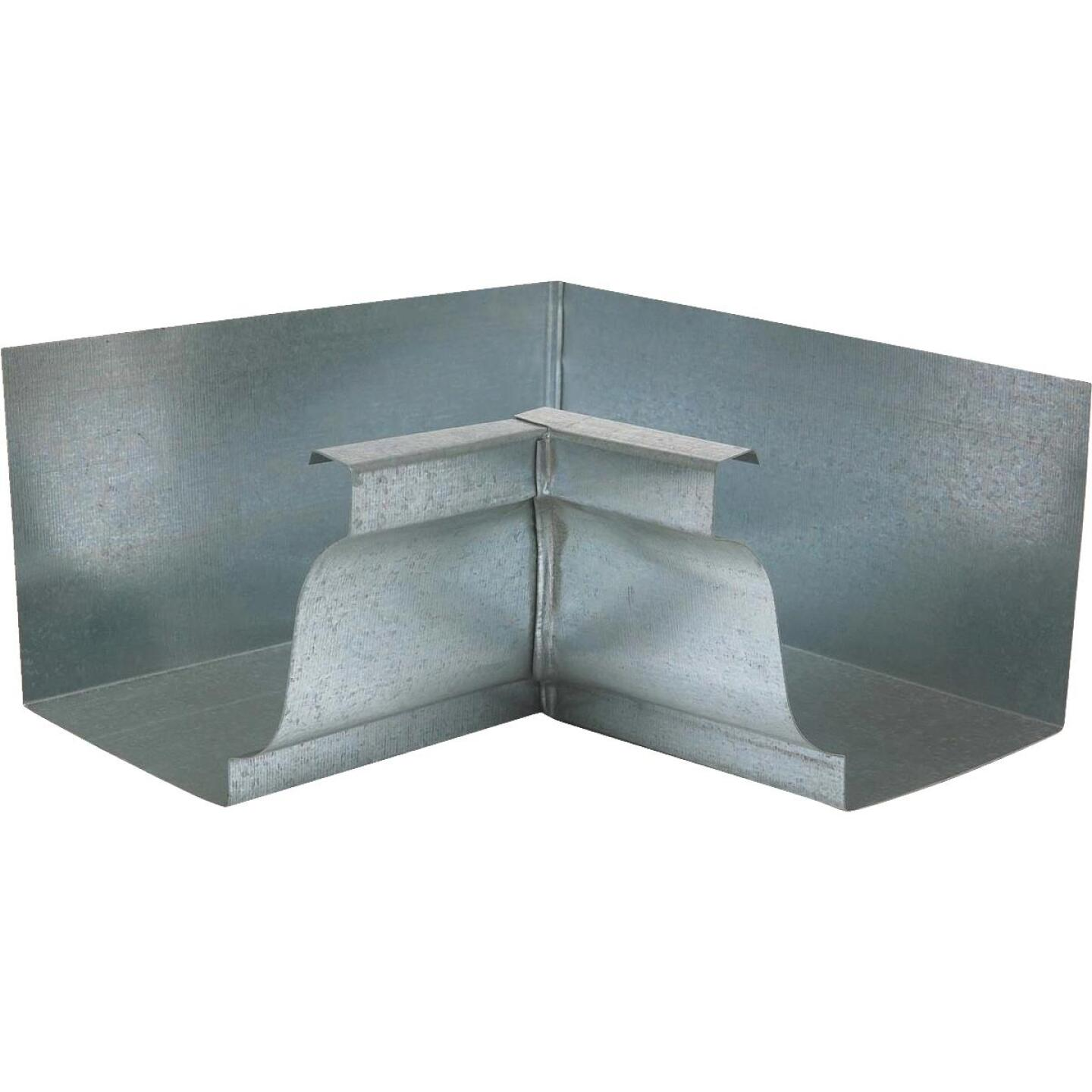 NorWesco 4 In. Galvanized Gutter Inside Corner Image 1
