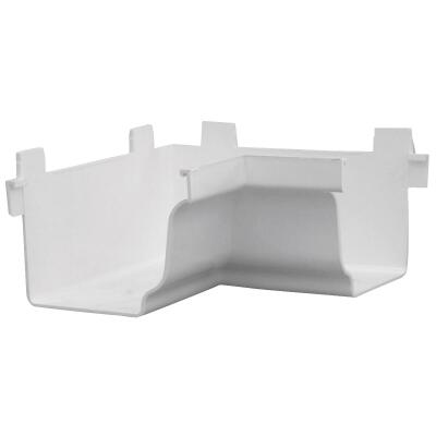 Repla K 5 In. Vinyl White Gutter Inside Corner