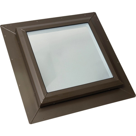 Kennedy Skylights 24 In. x 24 In. Bronze Self-Flashing Skylight