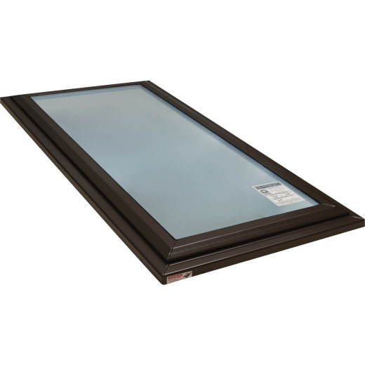 Kennedy Skylights 24 In. x 48 In. Bronze Fixed Glass Skylight