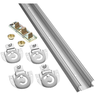 National 72 In. Bypass Door Hardware