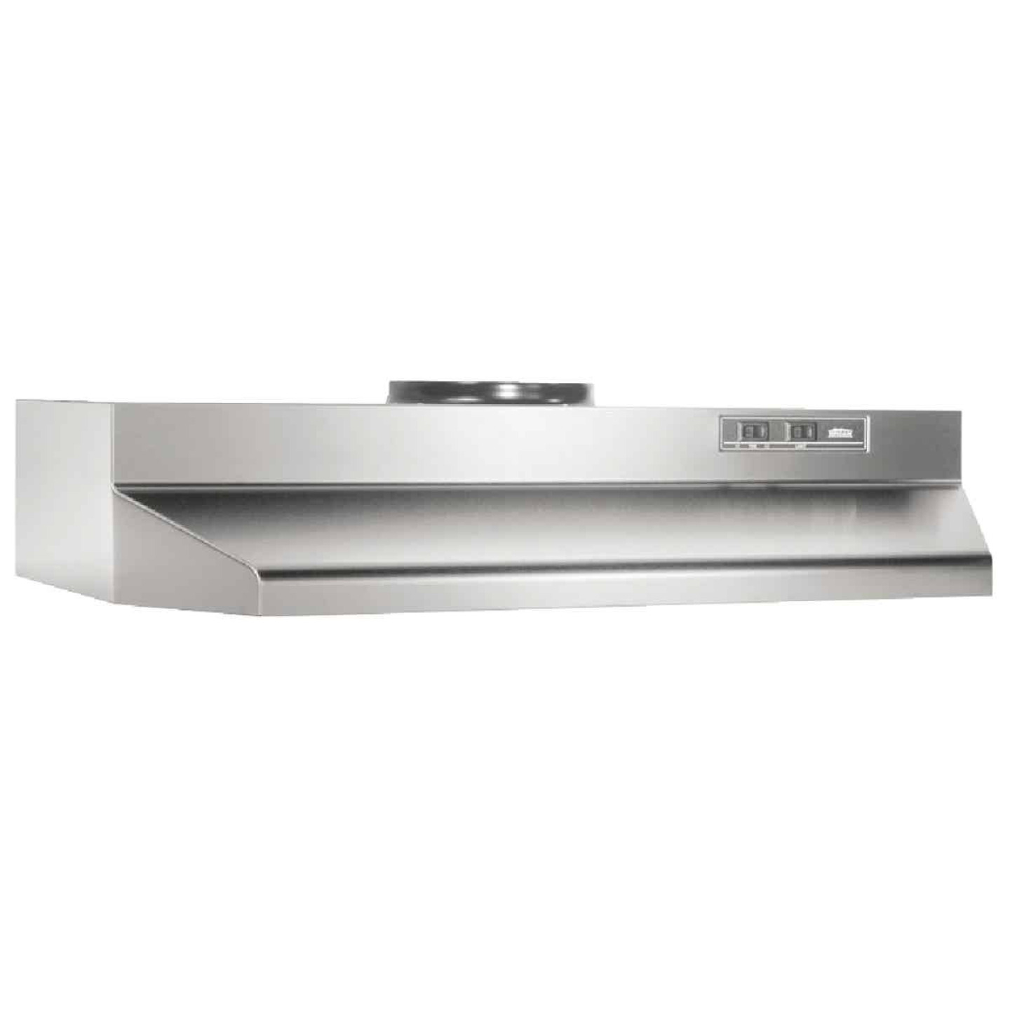 Broan-Nutone F Series 36 In. Convertible Stainless Steel Range Hood Image 1