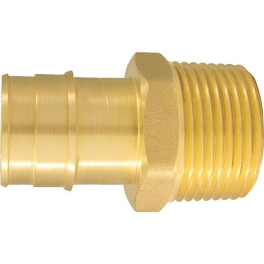 Conbraco 1 In. x 1 In. Brass Insert Fitting MIP Adapter Type A