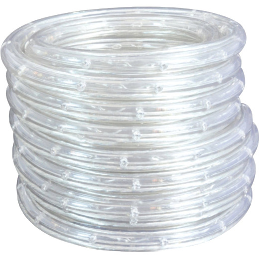 Good Earth Lighting White 48 Ft. 500-Lumen LED Rope Light