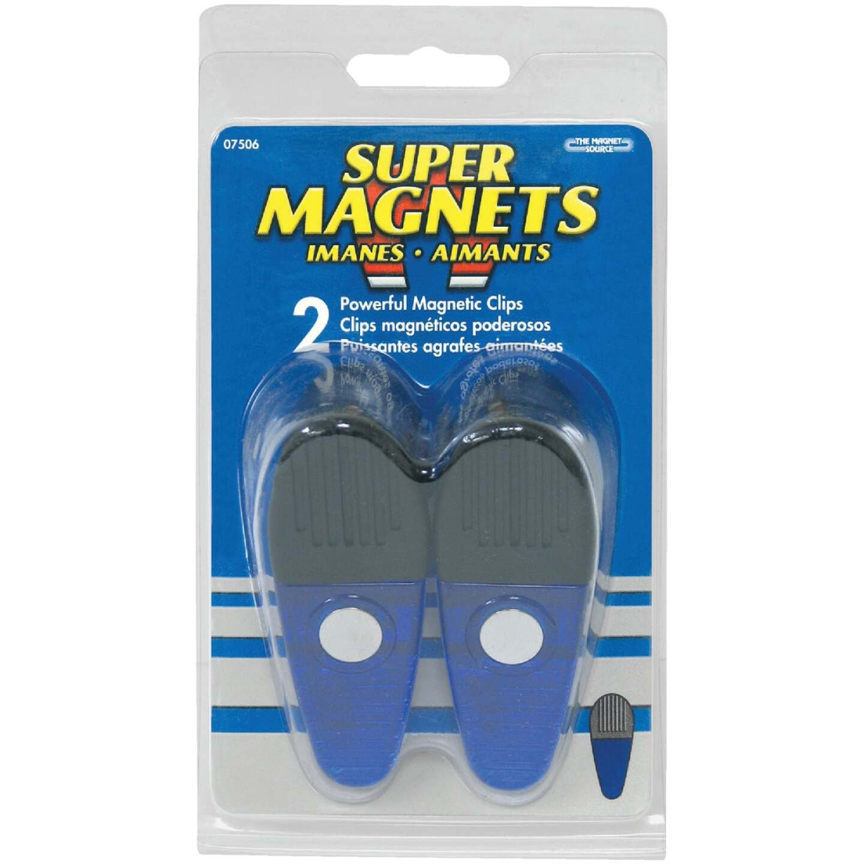 Master Magnetics 3-1/2 In. Blue Magnetic Clip (2-Pack) Image 2