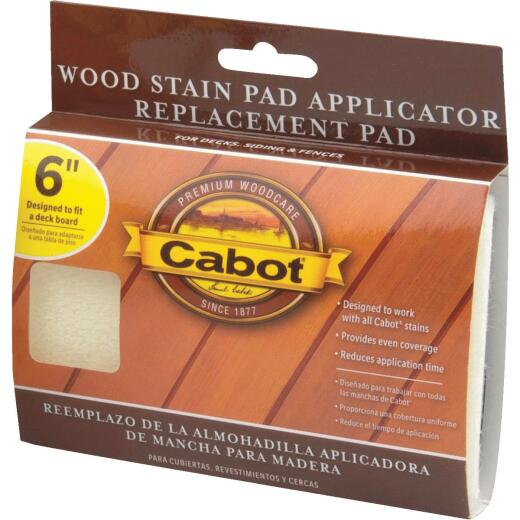 Cabot Synthetic Fabric 6 In. Stain Pad Applicator