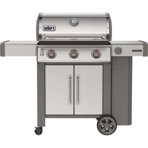 Weber Genesis II S-315 3-Burner Stainless Steel 39,000-BTU LP Gas Grill